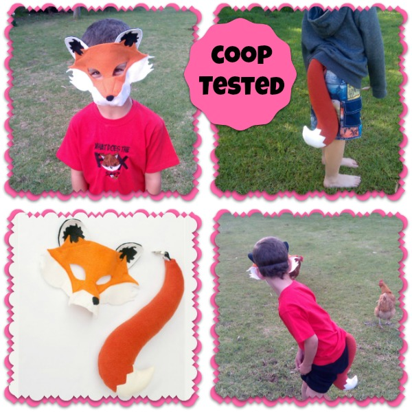 Coop Tested - Fox Costume by Schooza