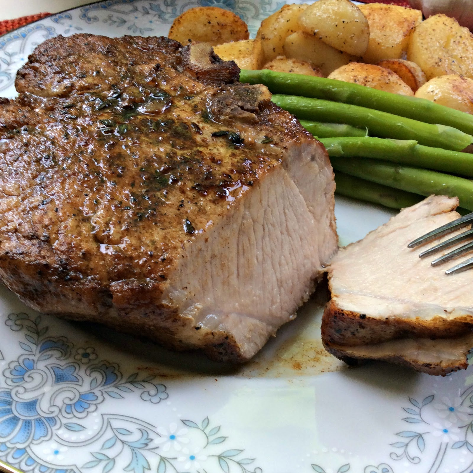 Chops On The Stove Top Give A Wonderful Taste To The Outside Of The  Chops A Finish In A Hot Oven And You End Up With Juicy And Ever So  Delicious Pork