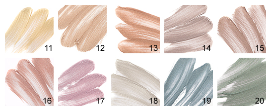 INGLOT Aquastic Cream Eye Shadow collection, review, and swatches.