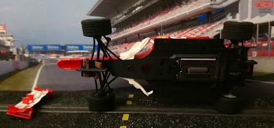 Recambio del Ferrari F2004 Nº2 C3 Scalextric Tecnitoys