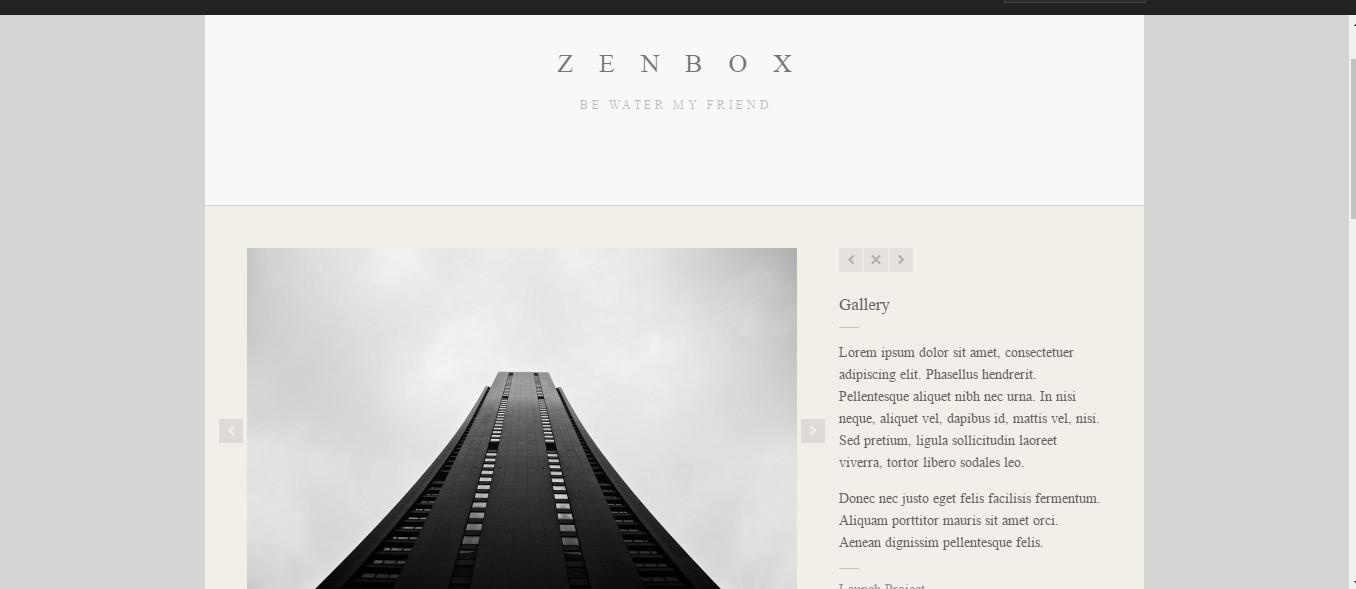Zenbox-Creative Photography-wp-theme