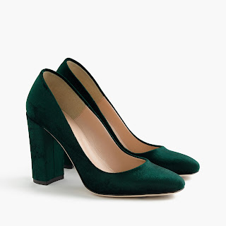 LENA PUMPS IN VELVET