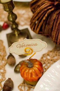 Thanksgiving Place Cards by Unoriginal Mom