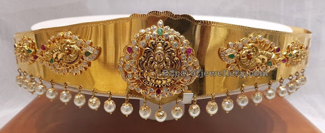 Latest Laxmi Waistbelt by Srimahalaxmi Jewellers