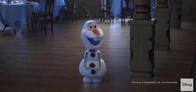 corto de frozen con Olaf