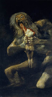 Saturn Devouring one of his sons Prado Madrid