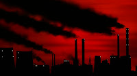 Factory Pipes Steam Into The Sky (Credit: Shutterstock) Click to Enlarge.