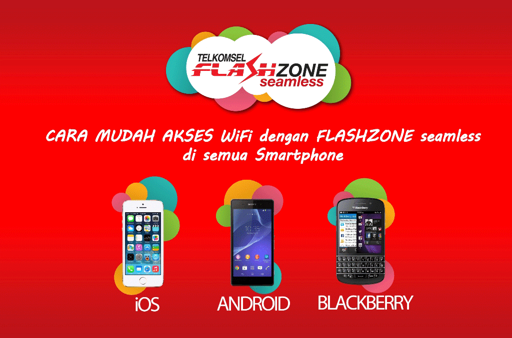 Cara Akses Cara Konek Wifi Flashzone Seamless Telkomsel Iphone Android Dan Blackberry Dayeuhluhur Blog