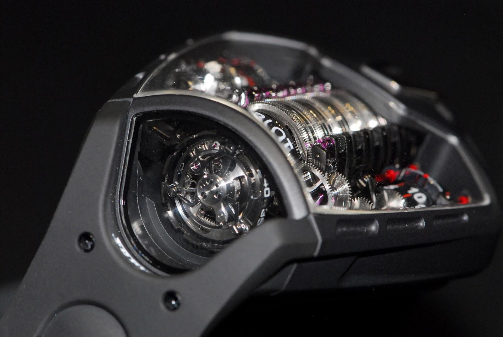 j 39 aime les montres la montre du jour hublot mp 05 laferrari baselworld 2013. Black Bedroom Furniture Sets. Home Design Ideas