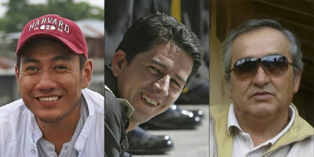 Kidnapped Ecuador journalist team confirmed dead