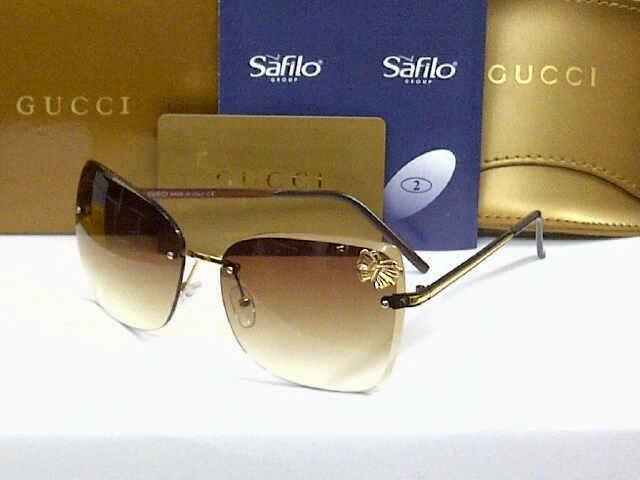 Kacamata Gucci Kupu-kupu coklat ad73d55ec3