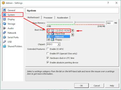 konfigurasi virtualbox