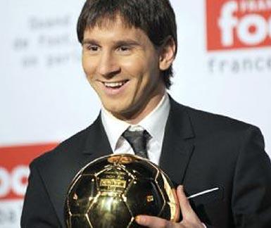 Messi ganó el Balón de Oro