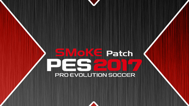 PES 2017 SMoKE Patch 9.6 (X version) + update 9.6.2