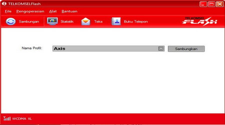 Pengaturan Kartu Axis Di Modem Telkomsel Flash 1
