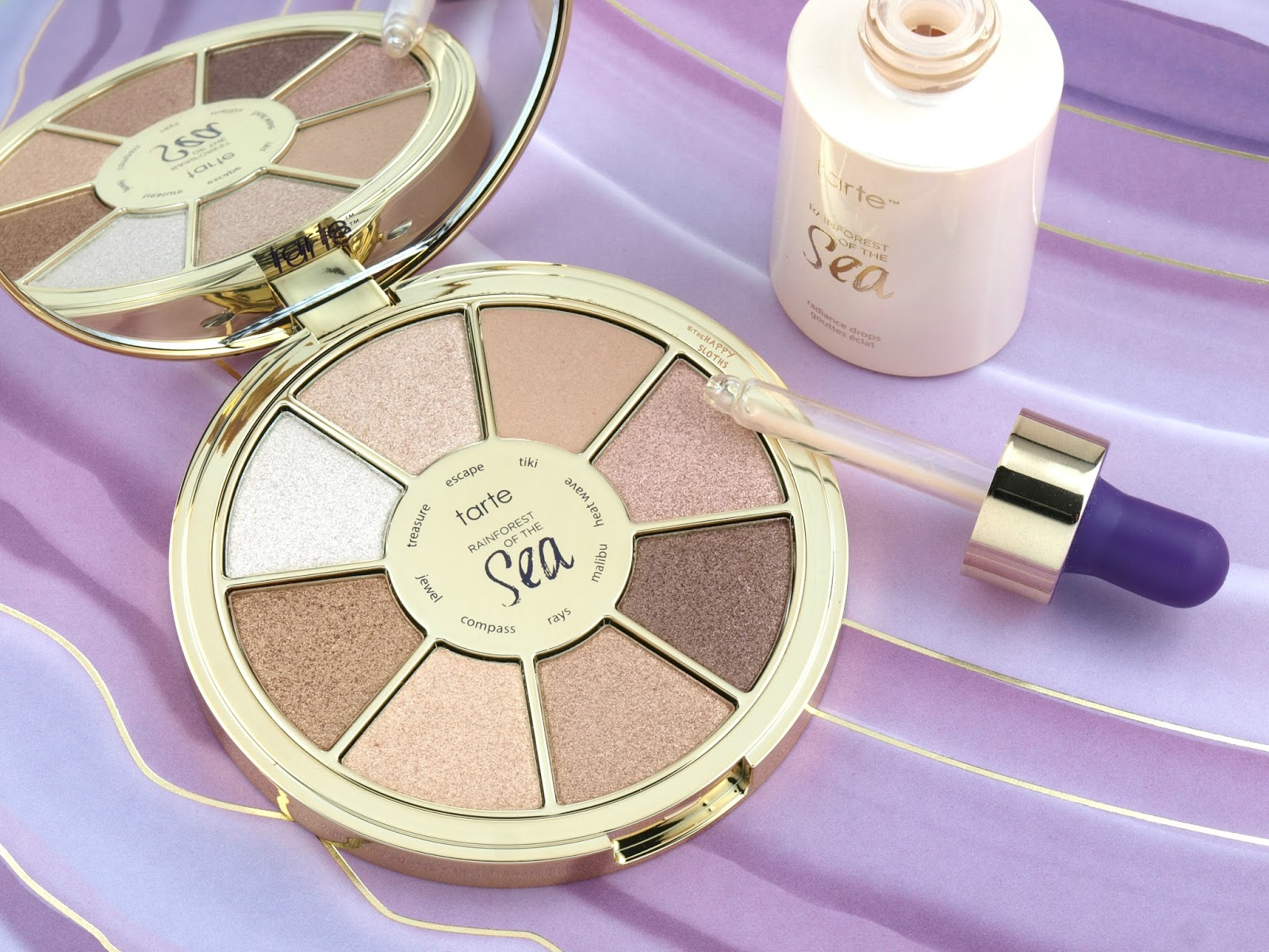 Tarte Rainforest of the Sea Volume III Eyeshadow Palette & Radiance Drops: Review and Swatches