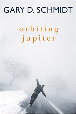 Oh my.  This is the story of Joseph an eighth grader, 13 years old. After some trouble with a juvenile center Joseph is taken in as a foster child with Jack's family. There Joseph learns to do farm chores as he struggles with his past. This includes the fact that he has a daughter- named Jupiter. Yes, he is 13. This was a fabulous, very short little book!