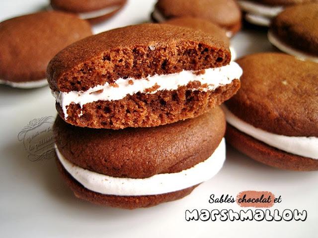 patisserie : recette de sablés au marshmallow