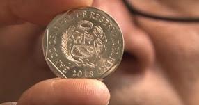 BCR acuña las primeras monedas de Un Sol del 2018 [VIDEO] www.bcrp.gob.pe