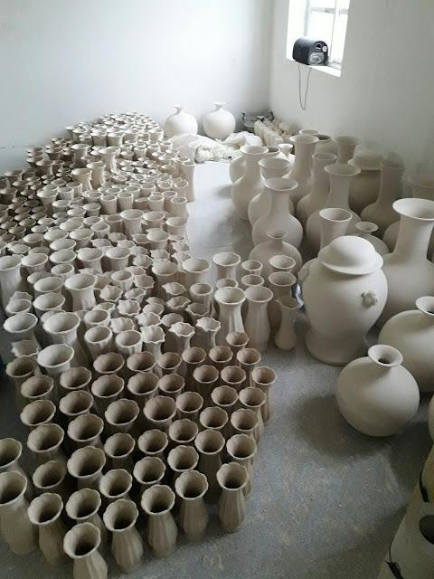 xưởng sản xuất của Gốm sứ bát tràng news