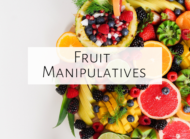 Fun with Fruit Manipulatives!