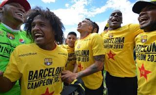 Barcelona de Guayaquil sagrou-se campeão