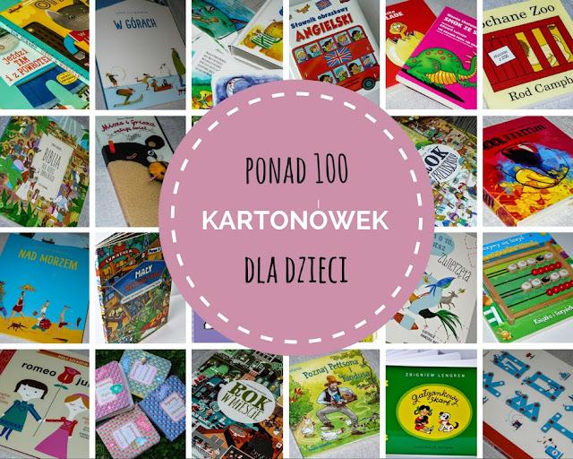 najciekawsze książeczki kartonowe dla dzieci, 100 najlepszych kartonówek, książki dla roczniaka, książki dla dwulatka, blog, recenzja