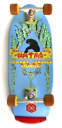 Treasures of the NHS Secret (Skateboard) Archives: Natas Art