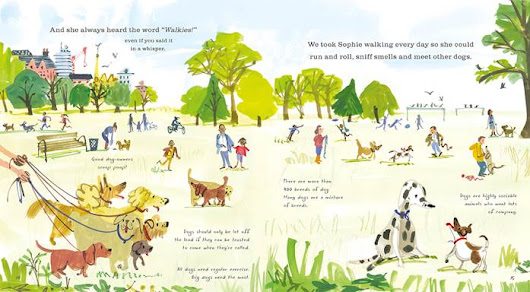 Our Very Own Dog: Taking Care of Your Very First Pet by Amanda McCardie illustrated by Salvatore Rubbino [Review & Giveaway US/CANADA - 2 winners]