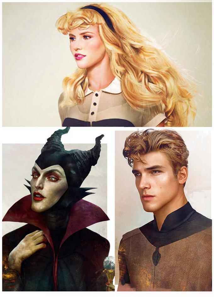 real life disney character Sleeping Beauty персонажи Дисней в реальной жизни Спящая красавица