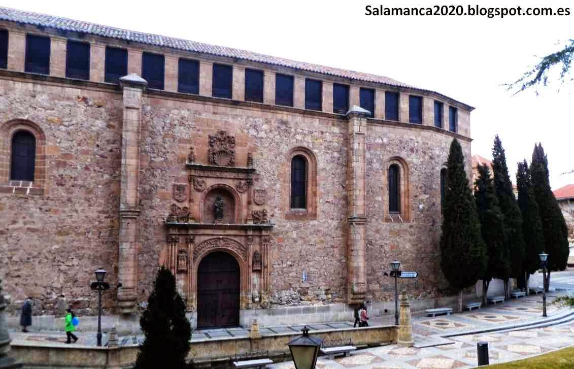 Salamanca 2020: Claustro Convento de Las Dueñas. Paraíso ...
