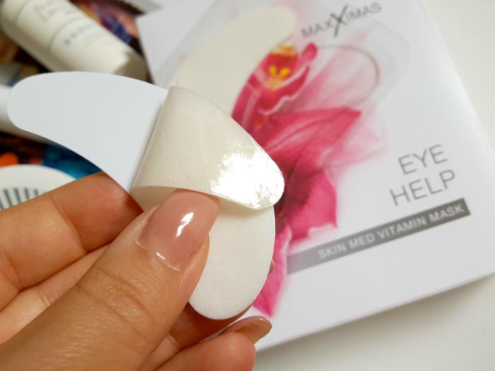 Review: MAXXIMAS Eye Help Skin Med Vitamin Mask - 7 Paar - 31.10 Euro