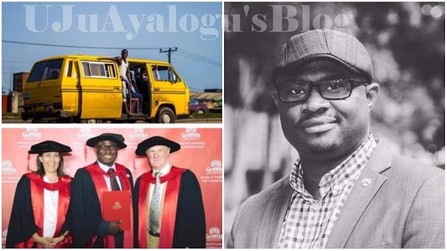 Lagos bus conductor becomes PhD holder, now a lecturer in Australia (photos)