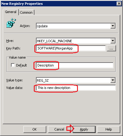 how to add new registry value through gpo