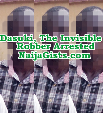 invisible robber nigeria arrested