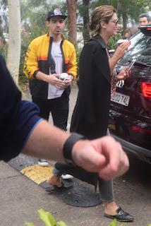 Delta Goodrem And Joe Jonas Out In Sydney