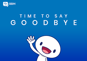 BBM Consumer service: Time to Say Goodbye