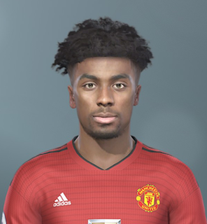 PES 2019 Faces Angel Gomes by Sofyan Andri