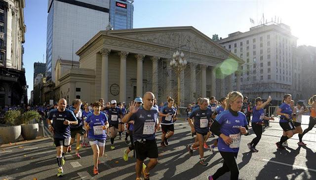 Percurso da Maratona de Buenos Aires