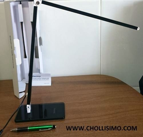 Deckey Lámpara de escritorio LED, B01C8I5SWQ,