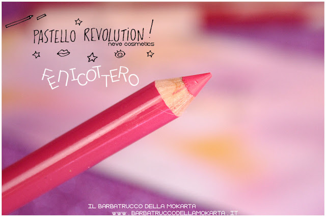 fenicottero BioPastello labbra Neve Cosmetics  pastello revolution