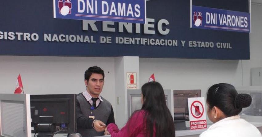 RENIEC amplía horario de atención por Elecciones Congresales de Enero 2020 - www.reniec.gob.pe
