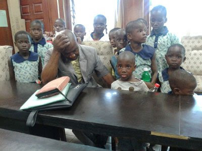 12 Children Rescued From Pastor's Home In Lagos