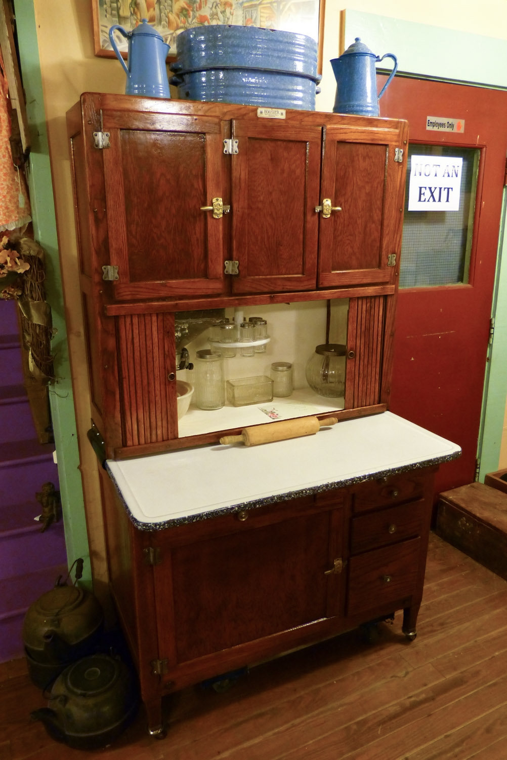 Apartment Size Hoosier Cabinet The Wildwood Flower