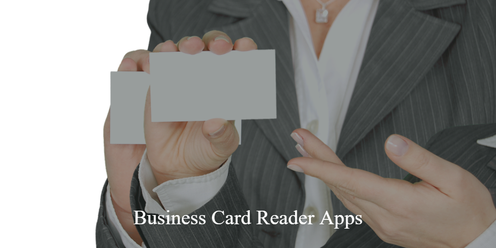 10 Best Business Card Reader Apps for iPhone & iPad 2018 - Best and ...