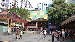 Chinatown Complex Food Court Singapore