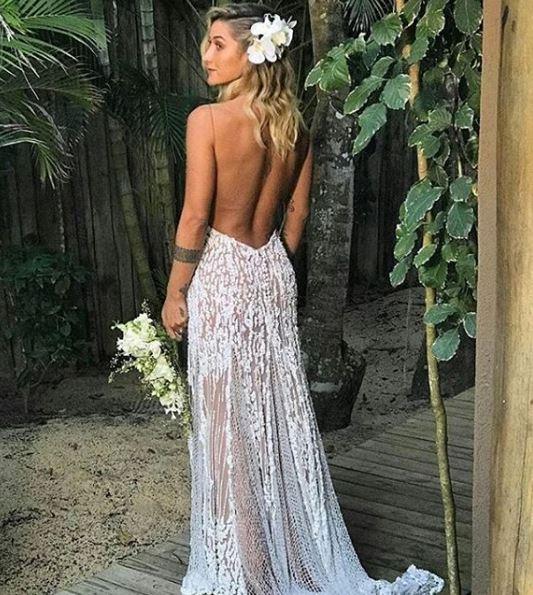Vestido de noiva Gabriela Pugliesi