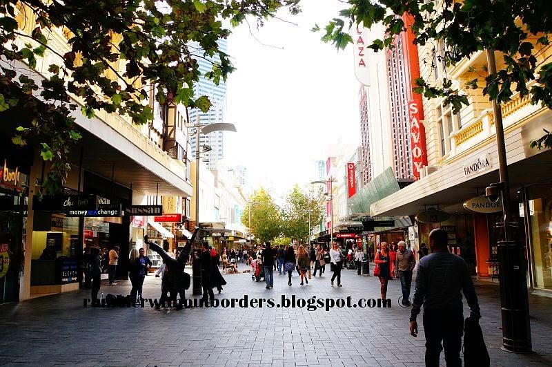 Hay Street Mall, Perth, WA, Australia