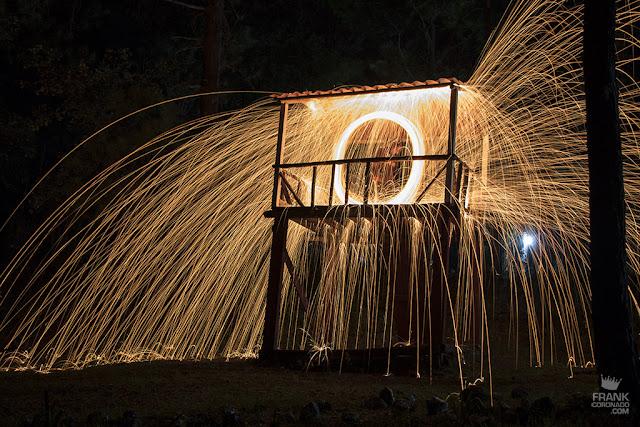 como hacer fotos con lana de acero