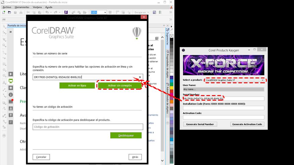 corel draw x7 crack version download